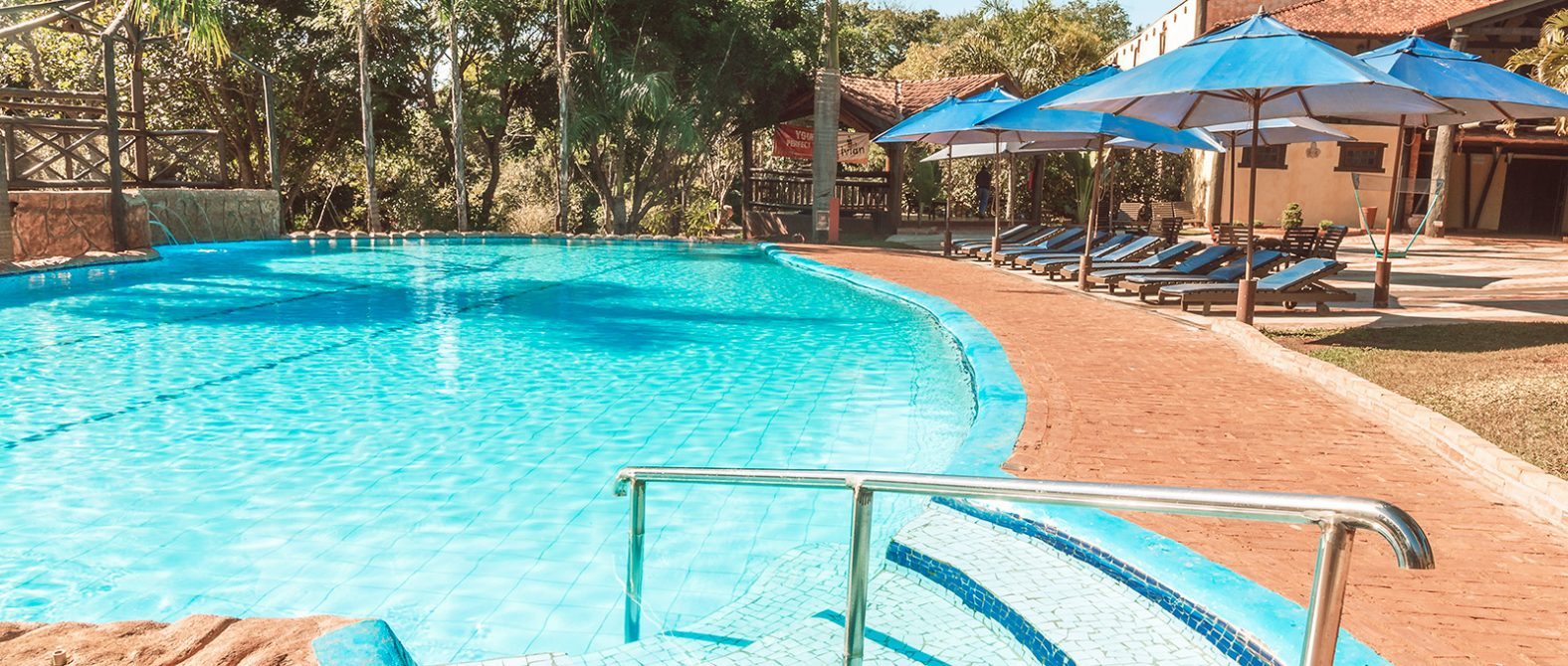 Piscina do Recanto Alvorada Eco Resort