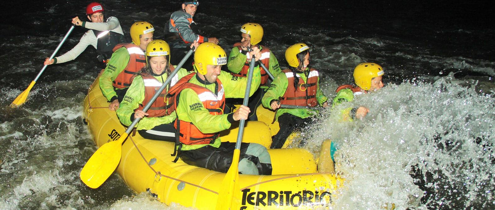 Rafting Noturno em Brotas | Recanto Alvorada Eco Resort
