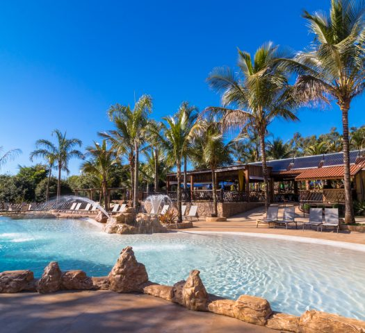 Beach Pool | Recanto Alvorada Eco Resort