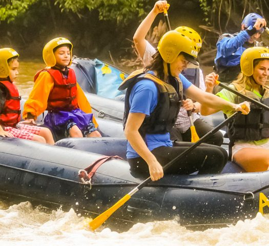 Mini Rafting em Brotas | Recanto Alvorada Eco Resort