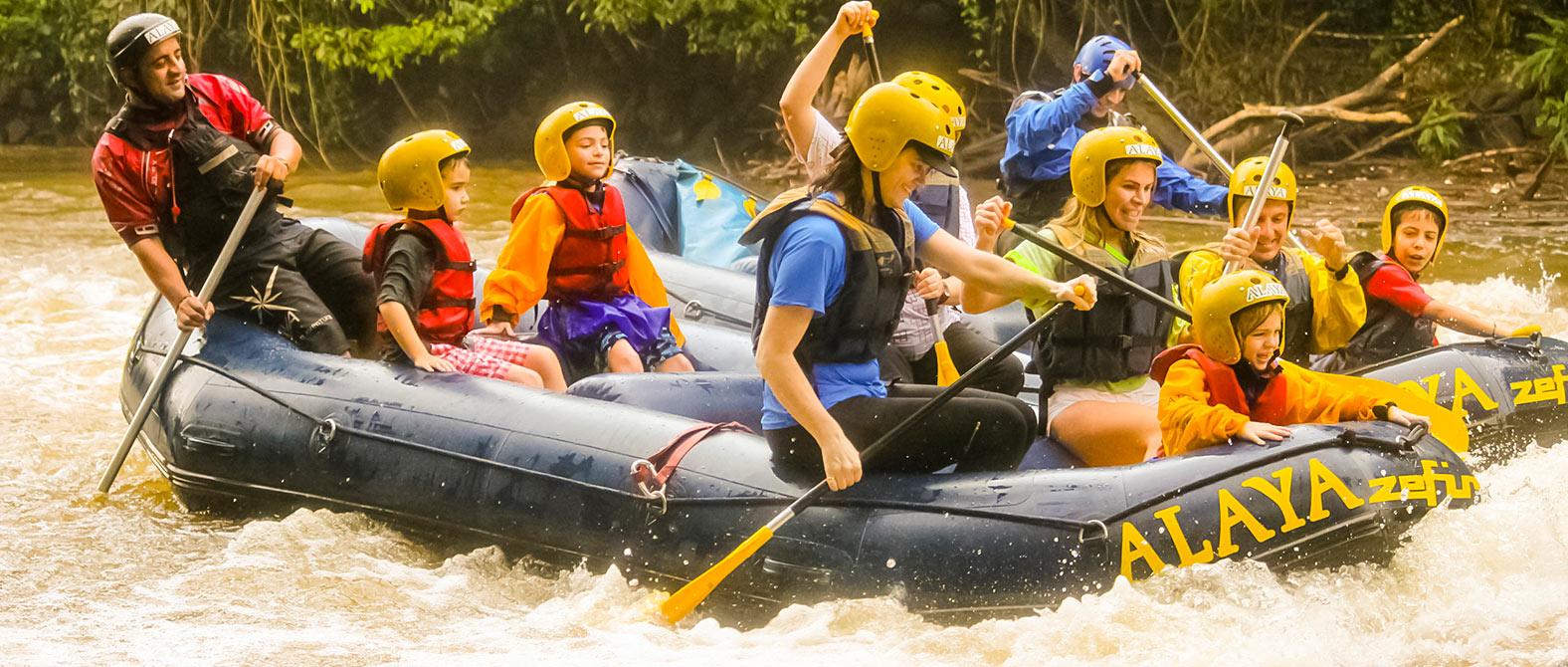 Mini Rafting em Brotas | Recanto Alvorada Eco Resort